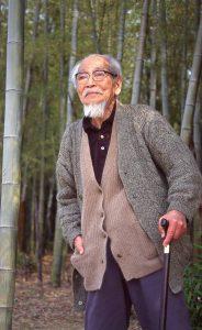 95歳の耕衣 寝屋川苑にて
